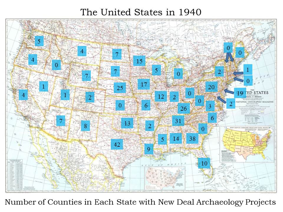 Three-Eighty-Three: Honoring America's New Deal Archaeologists on Labor Day 2012 (1/2)