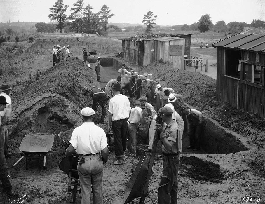 Arthur R. Kelly's WPA (and CWA) Archaeological Excavations at the Macon North Plateau